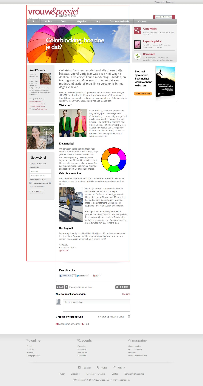 Colorblocking, hoe doe je dat- - Vrouw&Passie