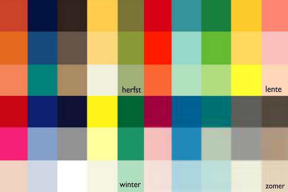 Kleurtypes welke kleur past bij jou for Wat zijn de koele kleuren
