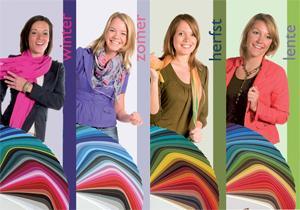 Kleurtypes: Welke kleur past bij jou? | Kledingstyliste.nl