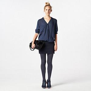wehkamp edc-women-jurk-donkerblauw
