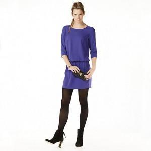 wehkamp selected-femme-jurk-paars