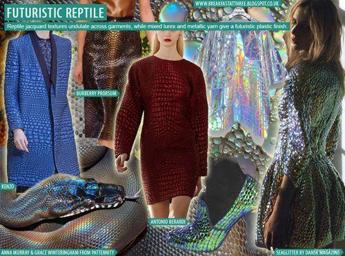 we connect futuristic reptile moodboard