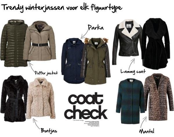 Trendy Winterjas.Lookbook Trendy Winterjassen Voor Elk Figuurtype Kledingstyliste Nl