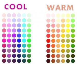 warme kleuren voor bril montuur