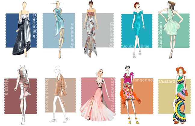 Trends modekleuren zomer 2015 for Wat zijn de koele kleuren