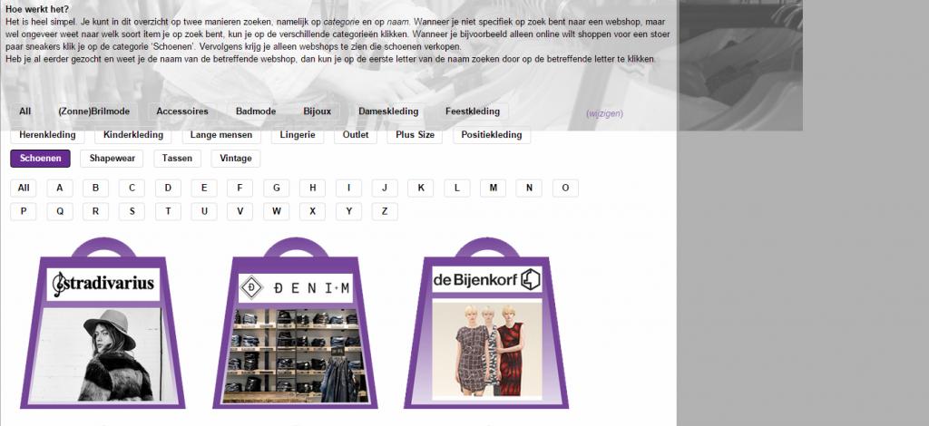 Webshops   Kledingstyliste.nl