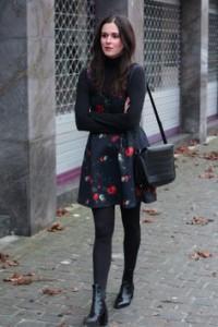 Lange jurk winter 2015