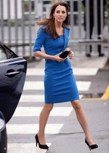 blue dress kate
