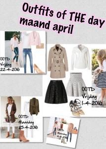 OOTD maand april