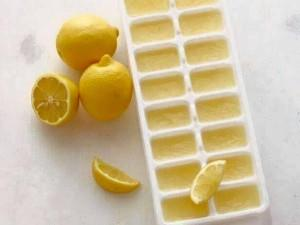citroen ijsblokjes